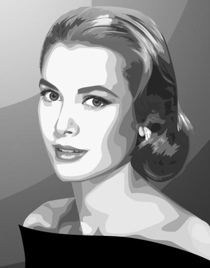 Grace Kelly by blazinphoenix